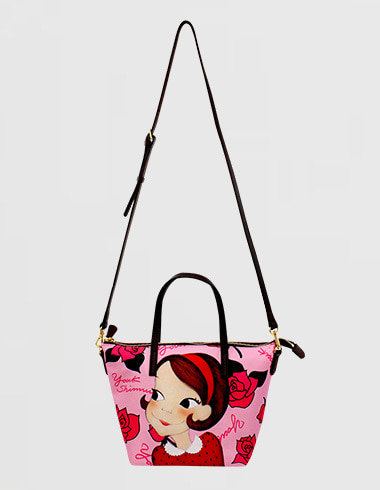 rose daily bonnybag pink ria