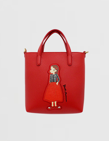 Patch Cava bag S Red ria(cross / tote)