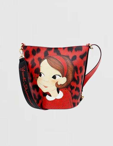 sante bag Leopard red ria