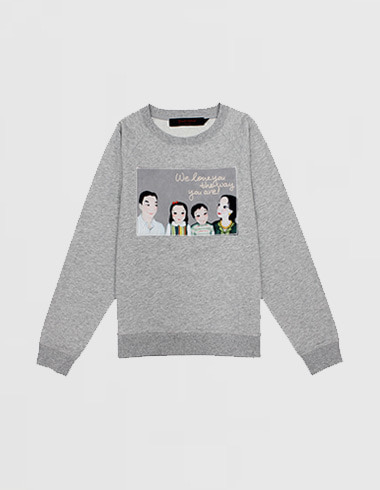 *50% SALE* family sweat shirt (man-to-man)