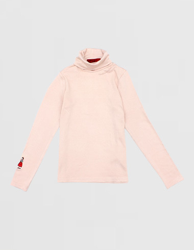 *60% SALE* turtle neck shirt (black ria/ivory ria/pink ria)